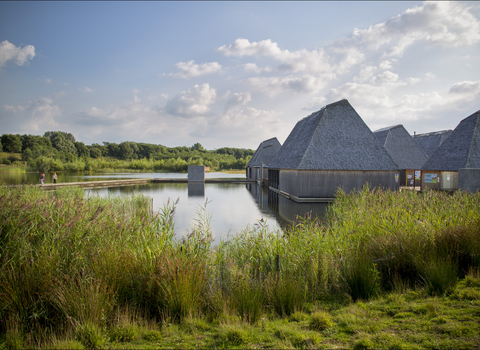 Brockholes floating Visitor Village